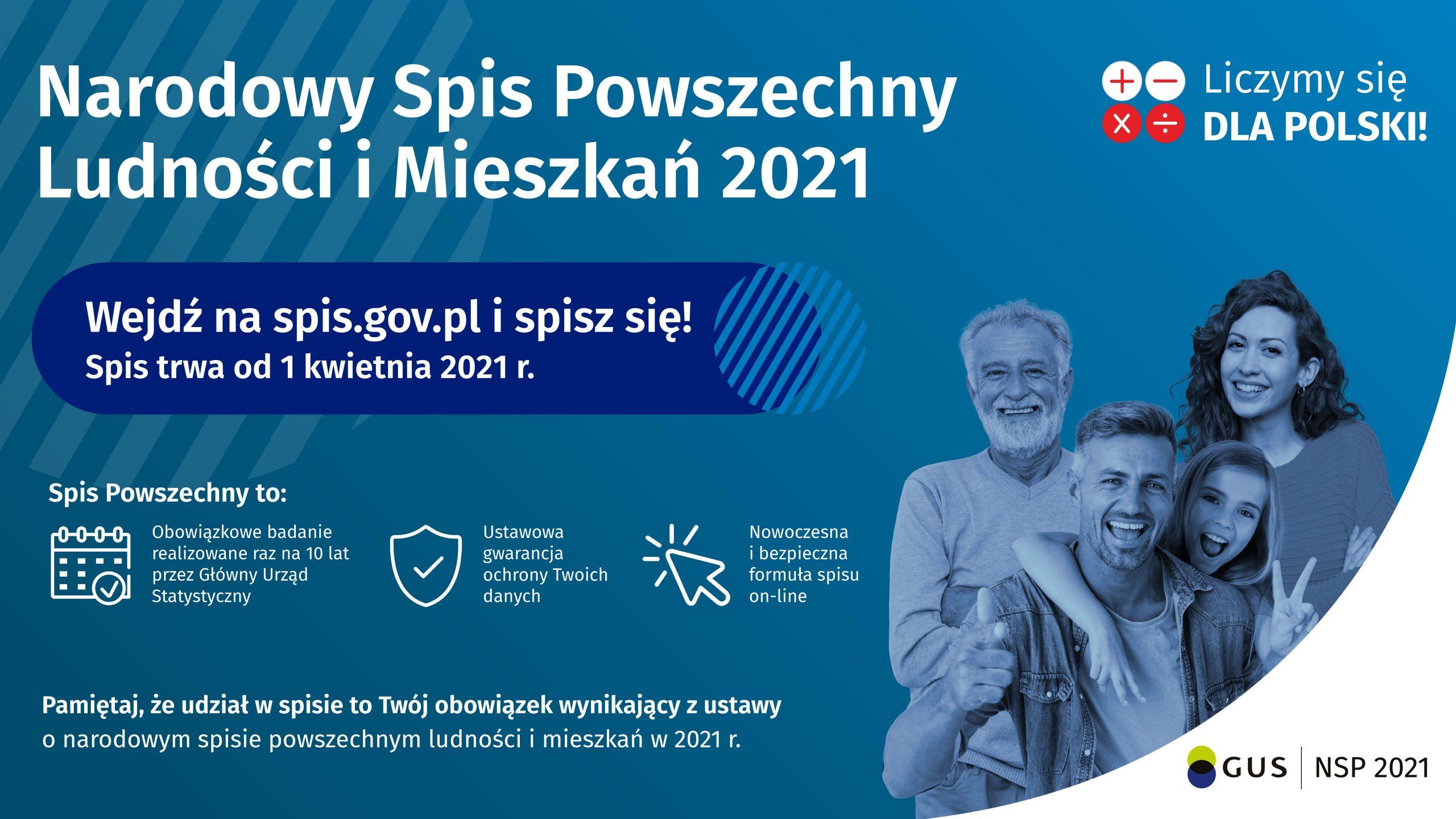 Narodowy Spis Ludności – #GminaNagłowiceLiczySięDlaPolski